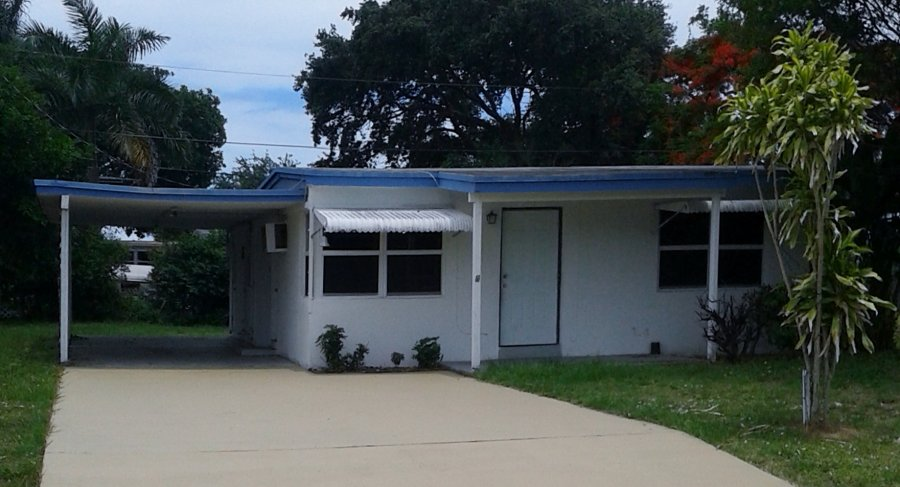 house for rent 2 bedrooms and office west palm beach 33462 131 old