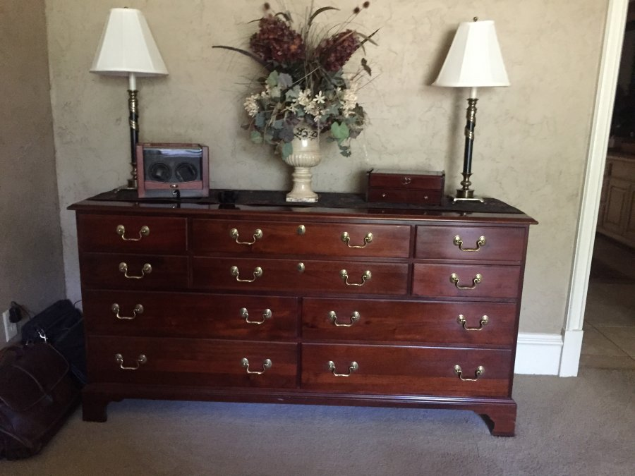 Solid cherry wood bedroom set fort worth 76262 trophy for Cherry wood bedroom furniture