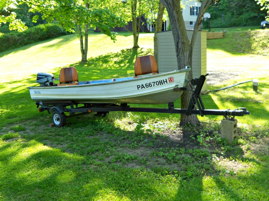 14 foot blue fin fishing boat 875 or best offer for 14 ft fishing boat