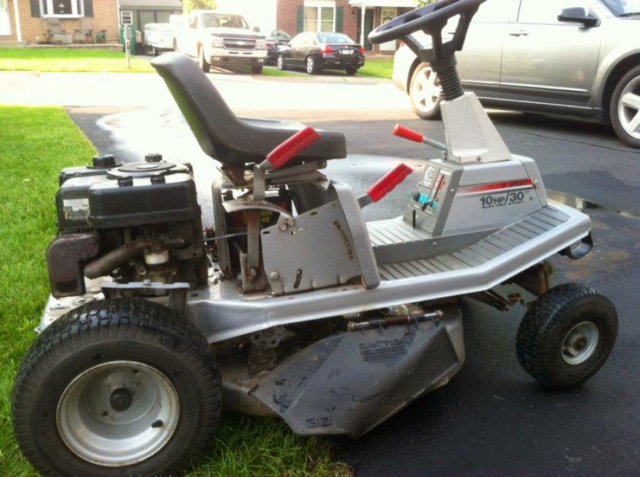Craftsman 10 Hp Electric Start 30 In Riding Mower