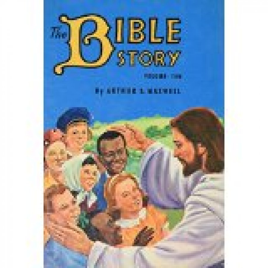 The Bible Story by Arthur Maxwell 10 Volumes (1953 Pacific Press) FREE SandH
