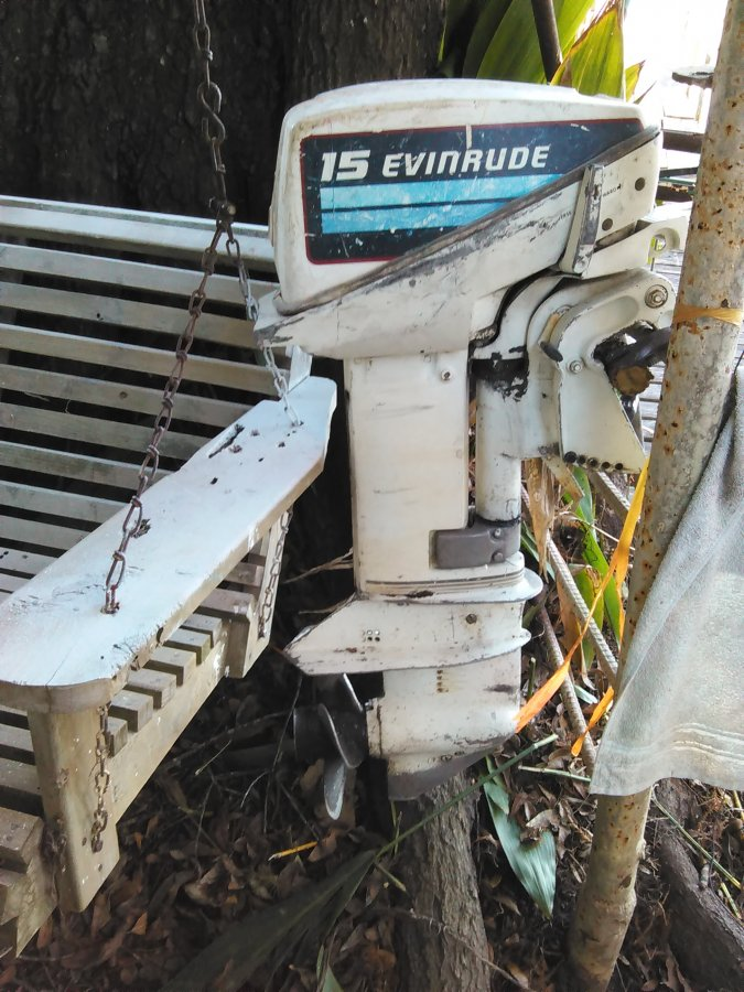 15 hp evinrude outboard boat motor louisiana 70577 port for 15 hp electric boat motor