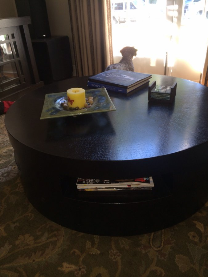 40 Round Crate And Barrel Coffee Table Los Angeles 90046 Los Angeles Home And Furnitures