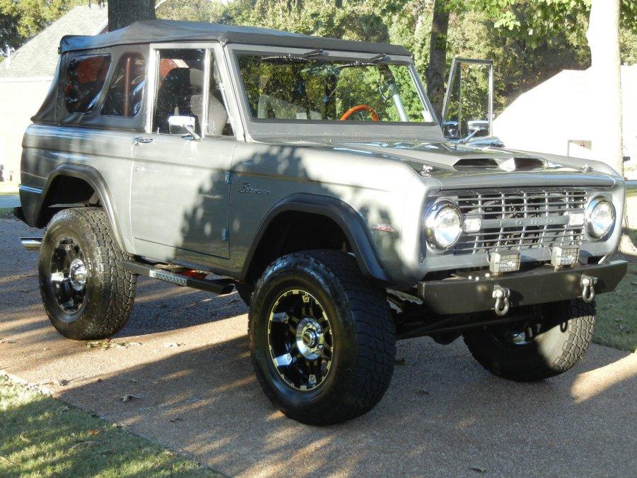 1974 Ford Bronco FULLY Restored - Soft Top | Mississippi ...