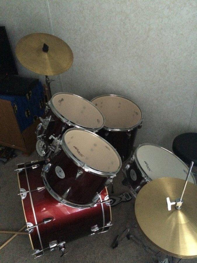 stagg 5 piece drum set north carolina 28555 maysville 100 items for sale deal. Black Bedroom Furniture Sets. Home Design Ideas