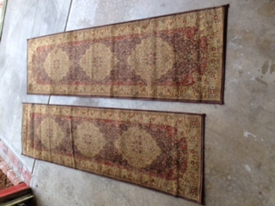 Two matching runner rugs sacramento 95608 carmichael 20 home and furnitures items for - Rugs and runners to match ...
