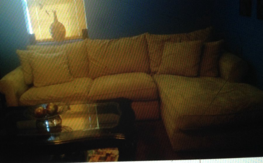 2 pc beige chaise sectional new jersey 07205 hillside nj for Beige sectional with chaise