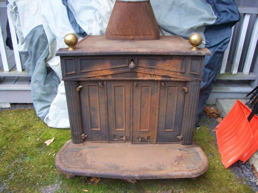 Vintage Ben Franklin Wood Burning Stove Pennsylvania 18210 450 Home And Furnitures