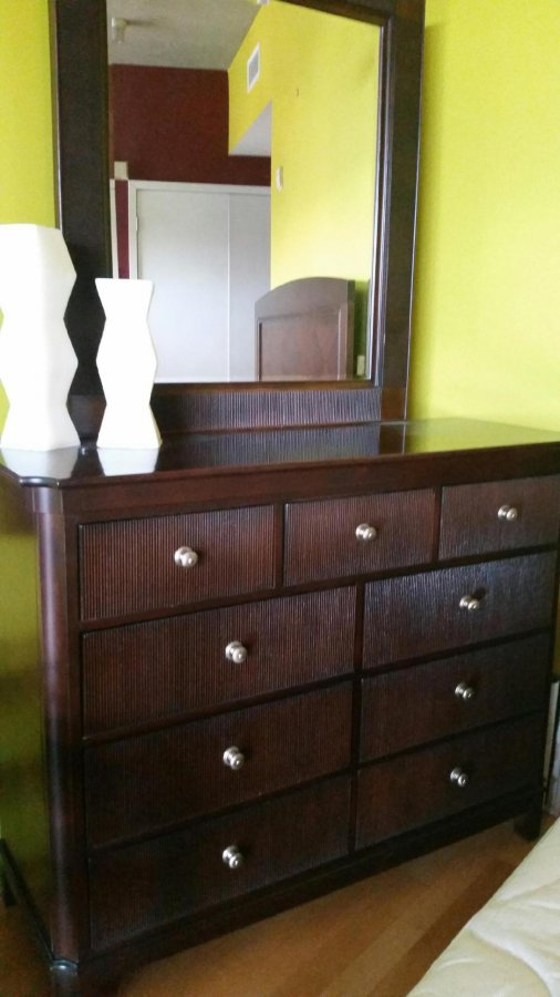 darl solid wood king size bedroom set san diego 92101