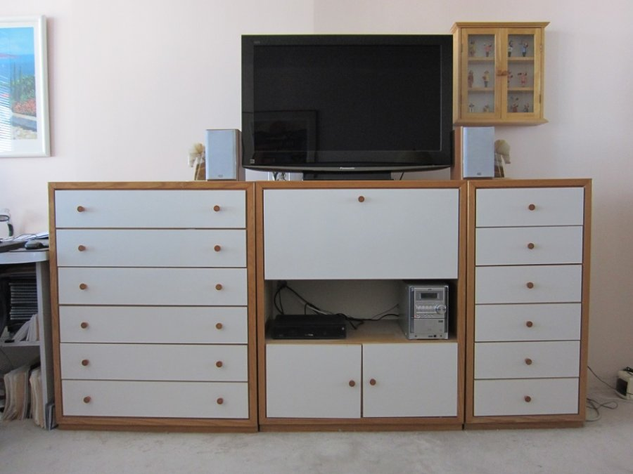 Danish modern 5 pc bedroom set for young adult new for Young adult bedroom furniture