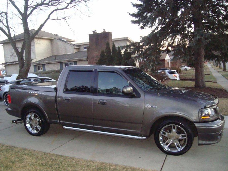 2002 ford f 150 harley davidson supercharged detroit 8000 truck vehicle deal. Black Bedroom Furniture Sets. Home Design Ideas