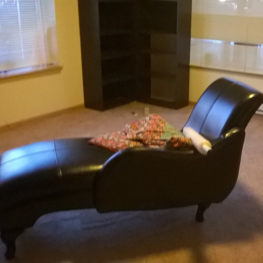 Black leather chaise seattle 98104 home and furnitures for Black leather chaise sale