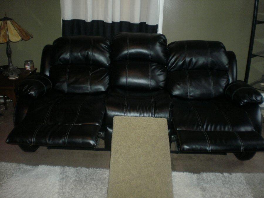 Black Leather Sofa And Love Seat Recliners Cincinnati