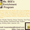 Mz.Bee'z Tutoring offer Education Jobs