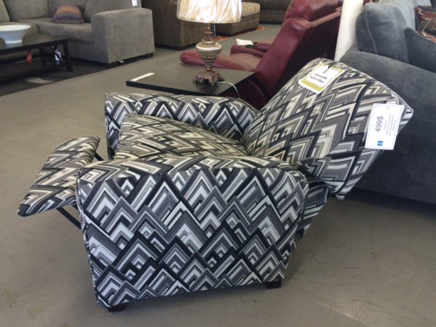 American furniture push back recliner san buenaventura for Reasonably priced living room furniture
