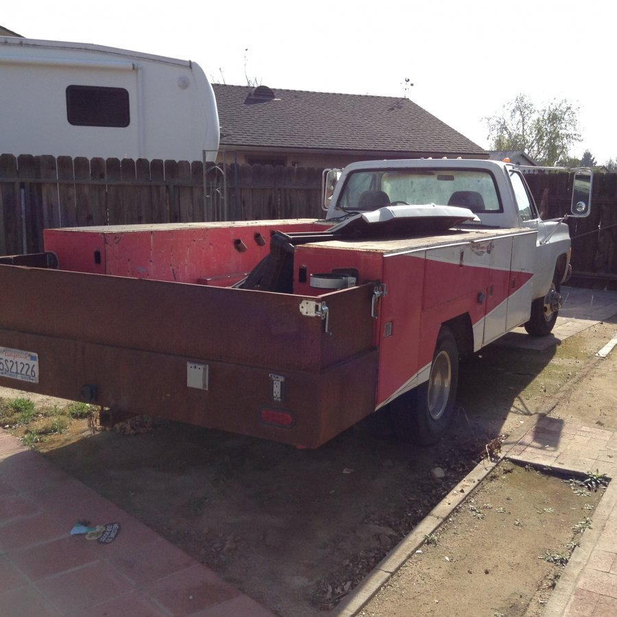 Toyota Bakersfield Ca: 1980 Dually Chevy Truck