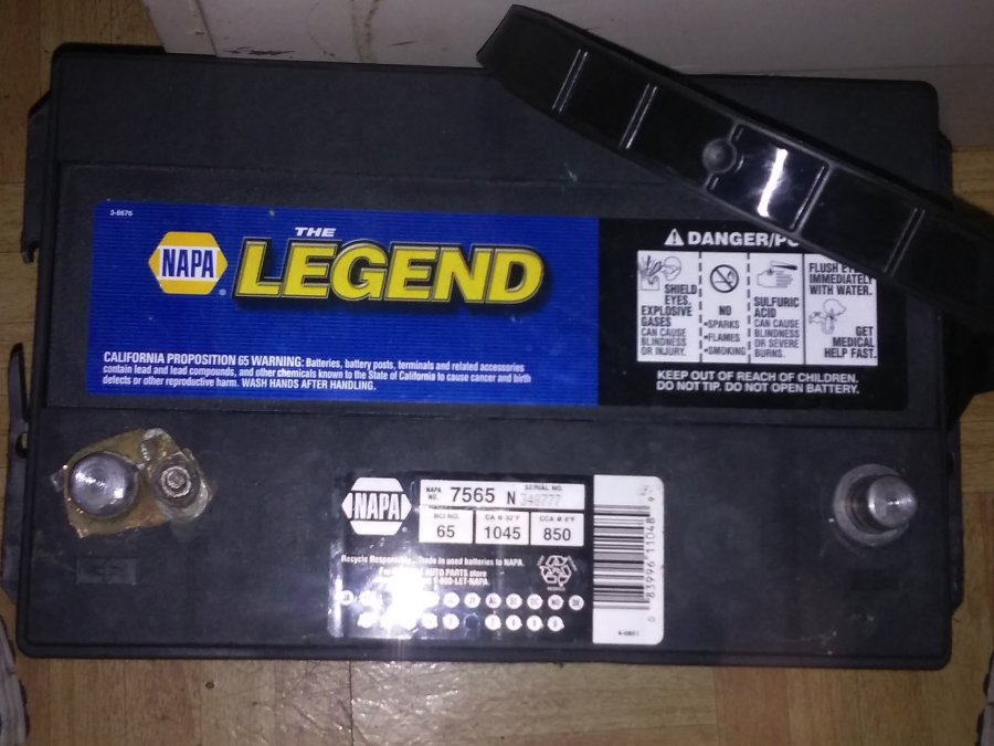Napa battery date code