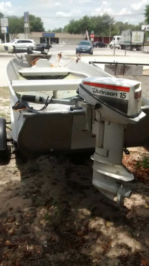 12 ft jon boat orlando 32726 eustis fl boat vehicle for Fish finder for jon boat