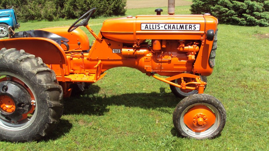 D12 Allis Chalmers Tractor Springfield 62441 18025