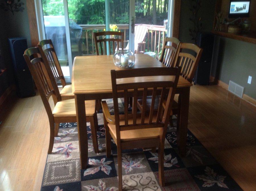 Dining table w 6 chairs buffalo 14069 glenwood ny - Dining room furniture buffalo ny ...