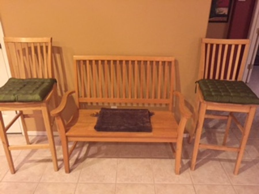 Kitchen table chairs bench seat high barstools tempe 85283 mcclintock elliott 400 Kitchen high chairs