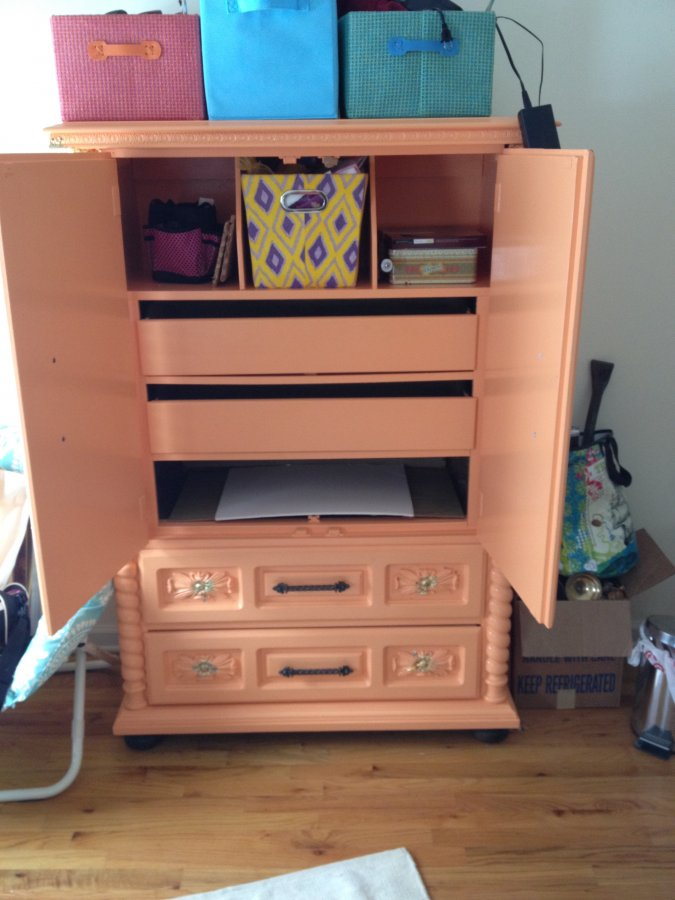 Free Colorful Armoire Must Pick Up