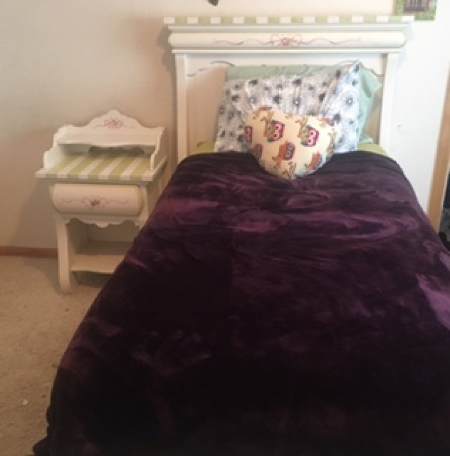 high quality girls twin bedroom set pink an green minneapolis