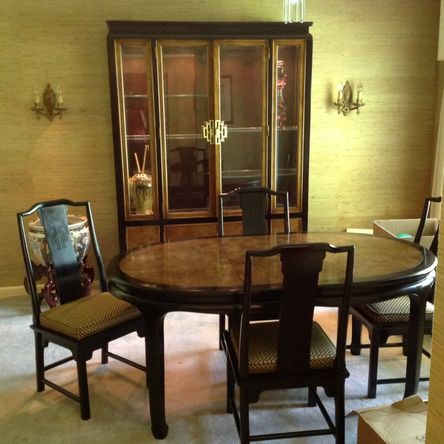 Dining room set century oriental flair gainesville 32605 for Oriental dining room furniture for sale