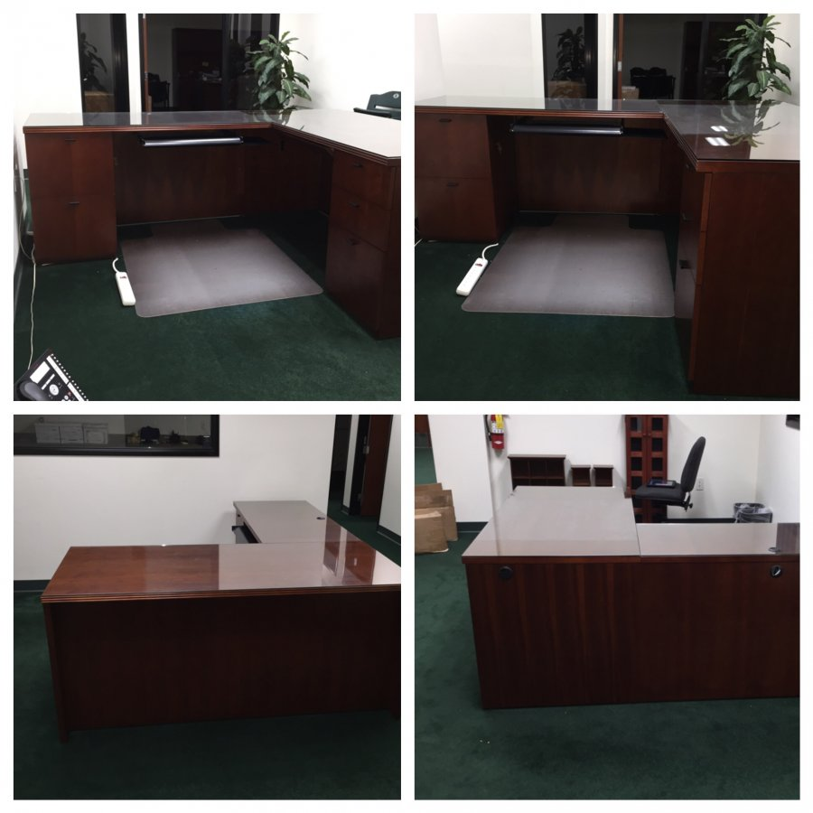 Office Closing Desks In Great Condition Must Sell