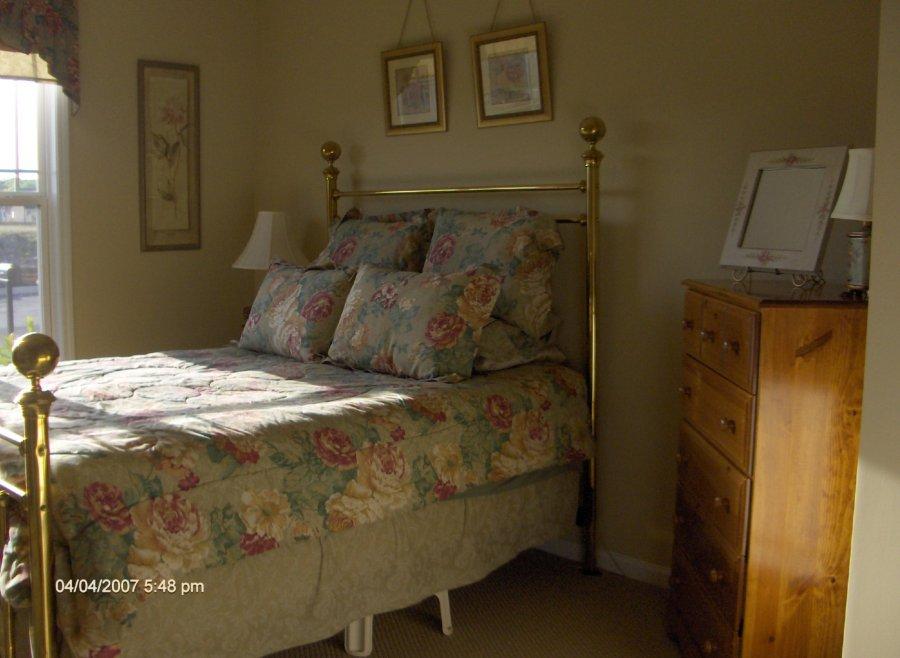 Antique Brass Queen Size Bed Frame Atlanta 30107 Ball
