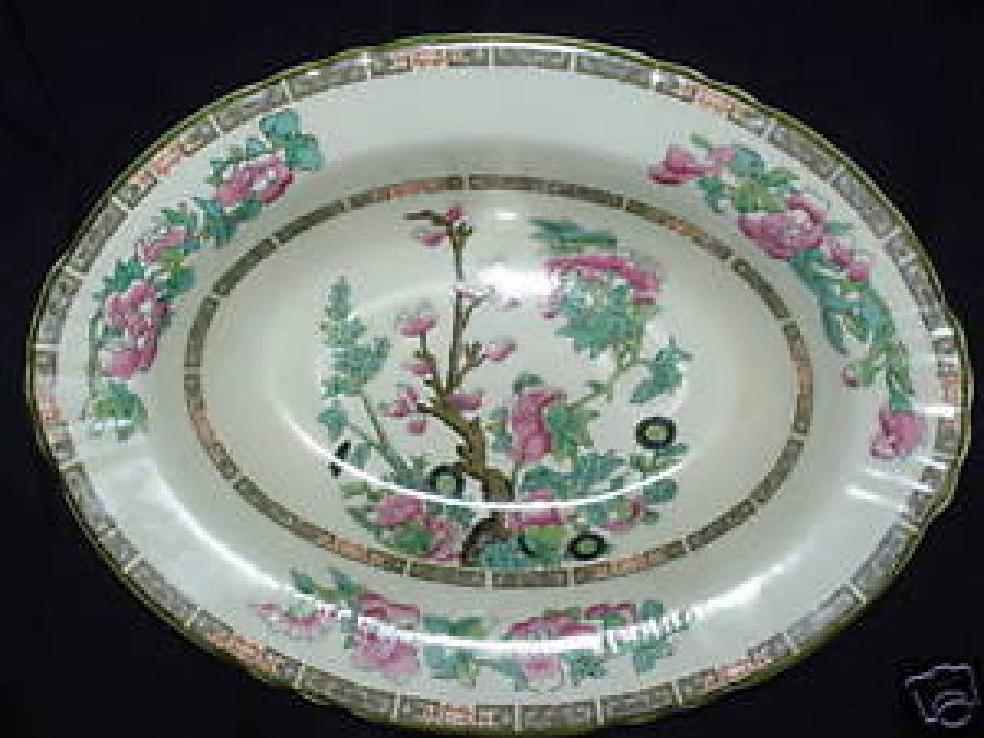 Indian tree was a popular china pattern during the latter Most popular china patterns