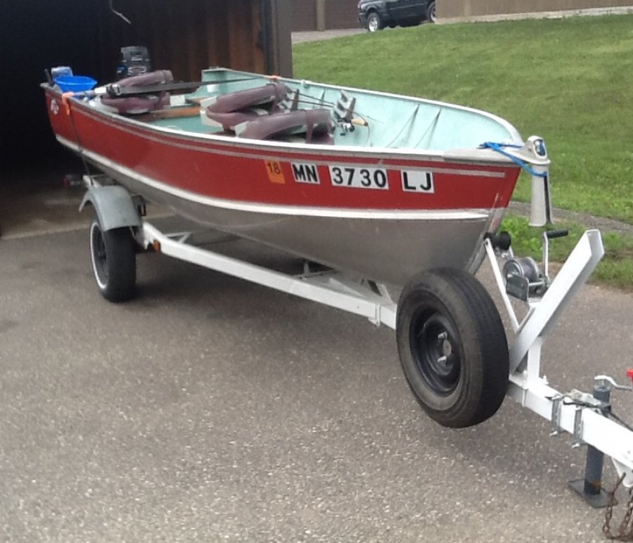 16 39 lund fishing boat rochester 55066 red wing mn for Fishing boats for sale mn