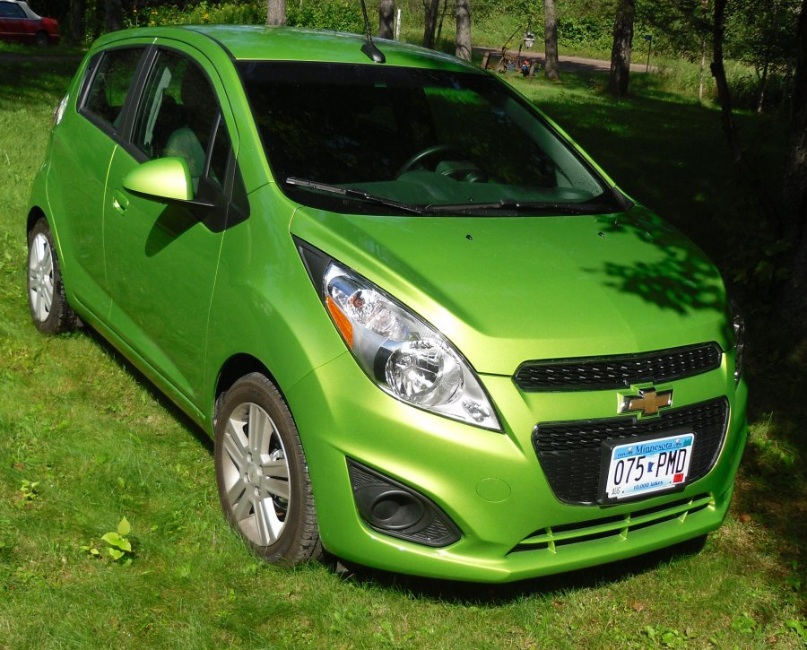2014 Chevrolet Spark 4 Door Hatchback 1335 Actual Miles