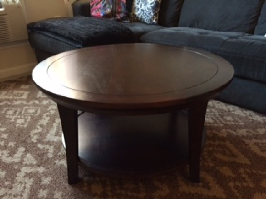 Stylish Pottery Barn Metropolitan Coffee Table