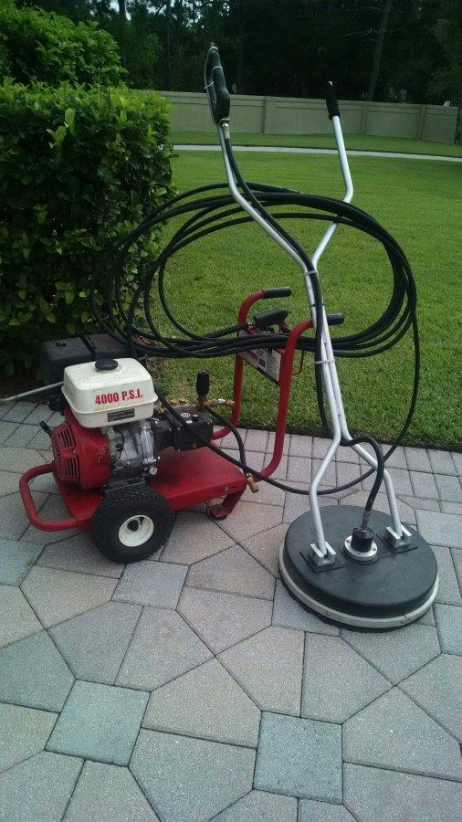Pressure washer driveway wheel orlando 32934 melbourne for Driveway pressure washer