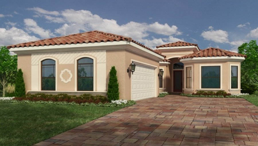 Modern 1 story single family home west palm beach 33409 for Modern single family homes