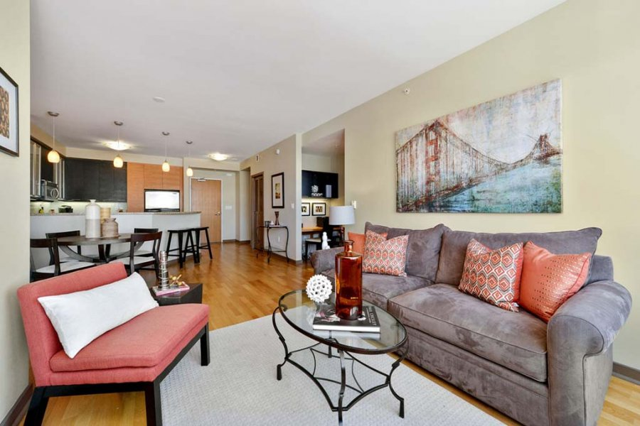 one bedroom apartment san francisco 94108 693 powell st