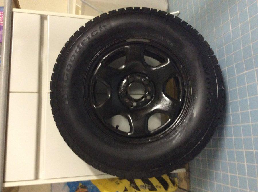4 bf goodrich winter tires ontario m5p2k7 toronto auto. Black Bedroom Furniture Sets. Home Design Ideas