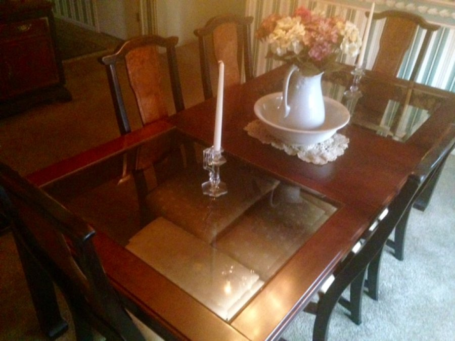 broyhill premier ming dynasty dining room set peoria