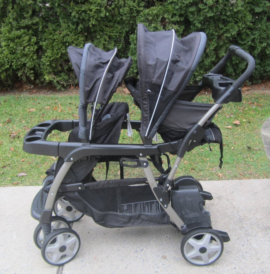 Graco Ready2Grow Classic Connect LX Double Stroller ...
