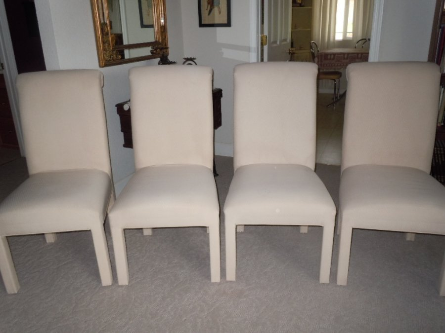 Parson chairs roseville 95901 loma rica ca home and for Non traditional dining room chairs