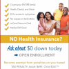 Last day for $0 Dollars Down Health benefits is 12/31/2016 offer Holidays