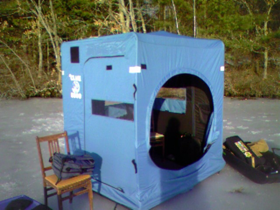 Clam 5600 3 man ice fishing shelter providence 02920 for Clam ice fishing shelters
