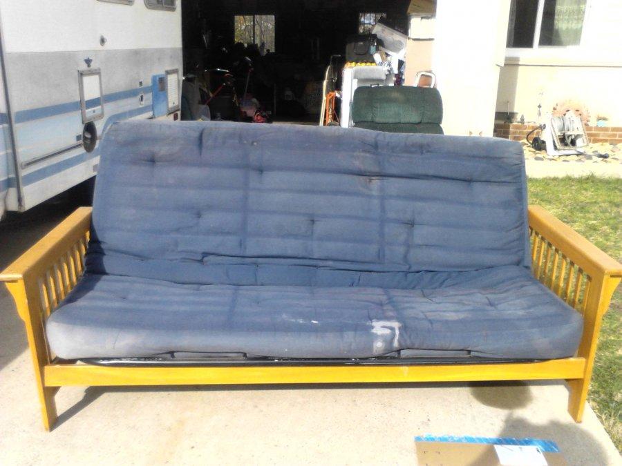 Futon sofa and Recliner chair San Diego
