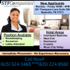 we are looking for housekeepers offer Hospitality Jobs