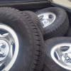 Tires and rims for sale  265 70 R 16 Falken offer Auto Parts