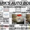 mark's auto body dent repair  offer Auto Services
