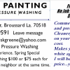 Ken's Painting, Lafayette Louisiana offer Professional Services