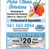 Pure Clean Services offer Cleaning Services