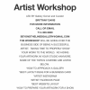 How to Succeed as an Artist Workshop